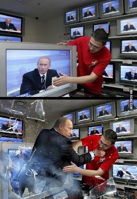 Não mexa com Putin!