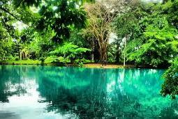 danau linting tempat wisata di medan yang romantis-destinasi wisata medan-objek wisata danau linting