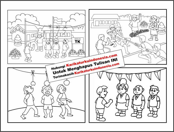 99 Gambar Kartun Hari Kemerdekaan Indonesia Cikimm Com