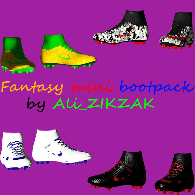 PES 2017 Fantasy Mini Boot Pack by Ali_ZIKZAK