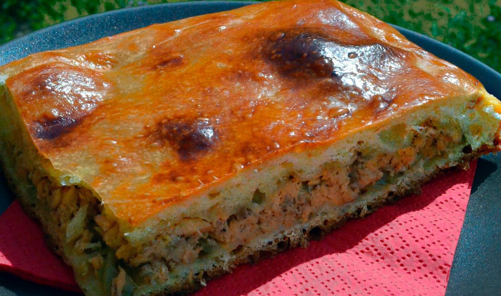 дрожжевой рыбный пирог рецепт