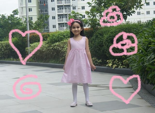 classic elegant childrens fashion girl