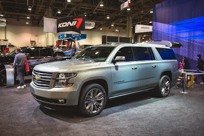 2015 Suburban Outdoor Features Presented at SEMA