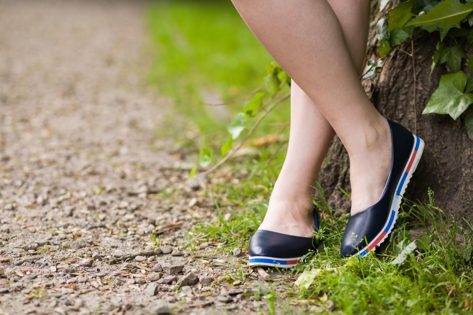 6 Off The Shoulder Flared Dress zaful paul rich watch hat sukienka zaful opinie recenzja buty łuków ażurowa hiszpanka granatowa baletki zegarek ootd lookbook fashionblogger blog modowy lifestyle