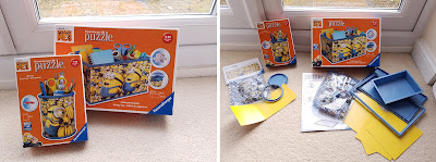 Despicable Me 3 Minions Stationery Holder, Ravensburger 3D Puzzle, build your own pen pot and storage box