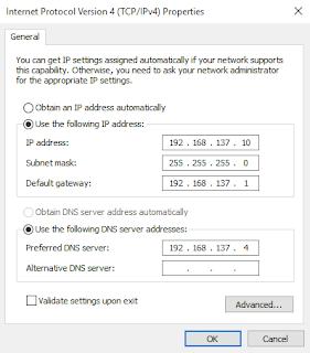 Instalasi dan konfigurasi samba server pada Linux