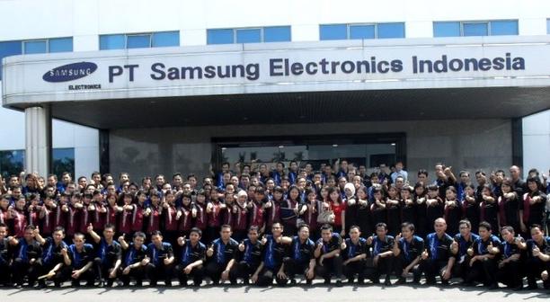 Cara Melamar dan Syarat Kerja di PT SAMSUNG ELECTRICS INDONESIA