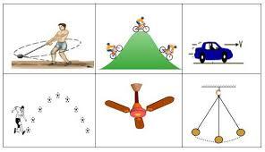 الحركة طاقة الحركة ، الحركة وخصائصها ـ قوانين نيوتن في الحركة ، قانون نيوتن الأول والثاني والثالث في الفيزياء