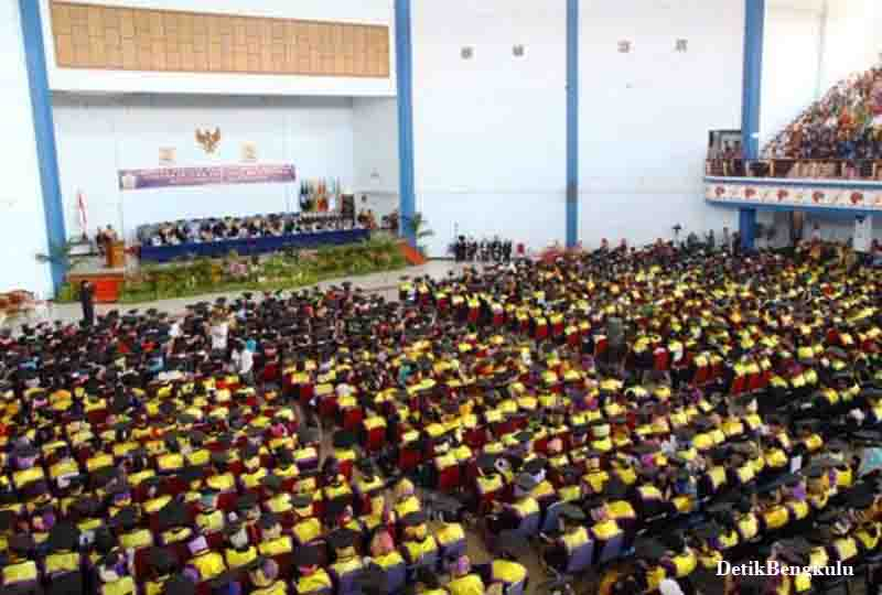 Wisuda Unib, Wisuda Universitas Bengkulu, Wisuda Unib Periode ke-81, Wisuda Unib Periode ke-81 Sebanyak 917 Mahasiswa