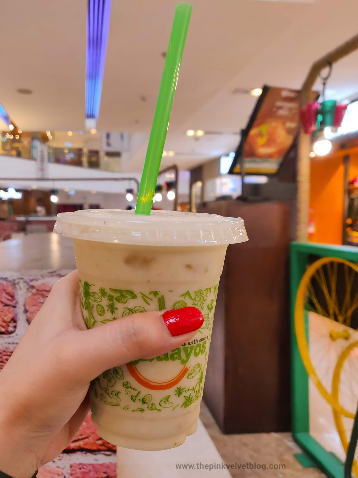 Chaayos Monsoon Menu - Banana Shake