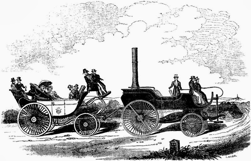 Two Nerdy History Girls: Horseless Carriages of the 1820s
