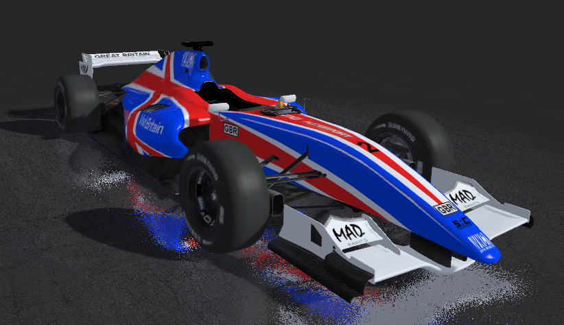 rFactor 2: FR3 5 Nations Cup liveries   MAD Paints