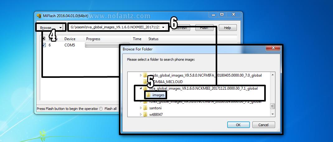 Tutorial Flashing | Fix Bootloop Redmi 5A (riva) MIFlashtool