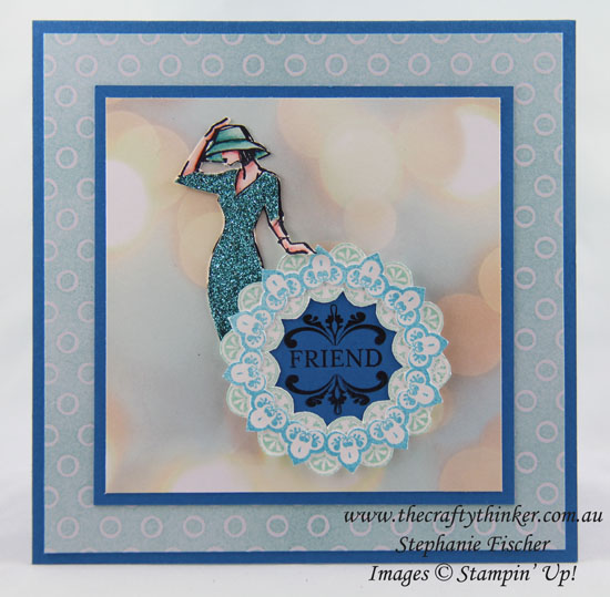 www.thecraftythinker, Beautiful You, Make A Medallion, Sale-A-Bration, Stampin Up Australia Demonstrator, Stephanie Fischer, Sydney NSW