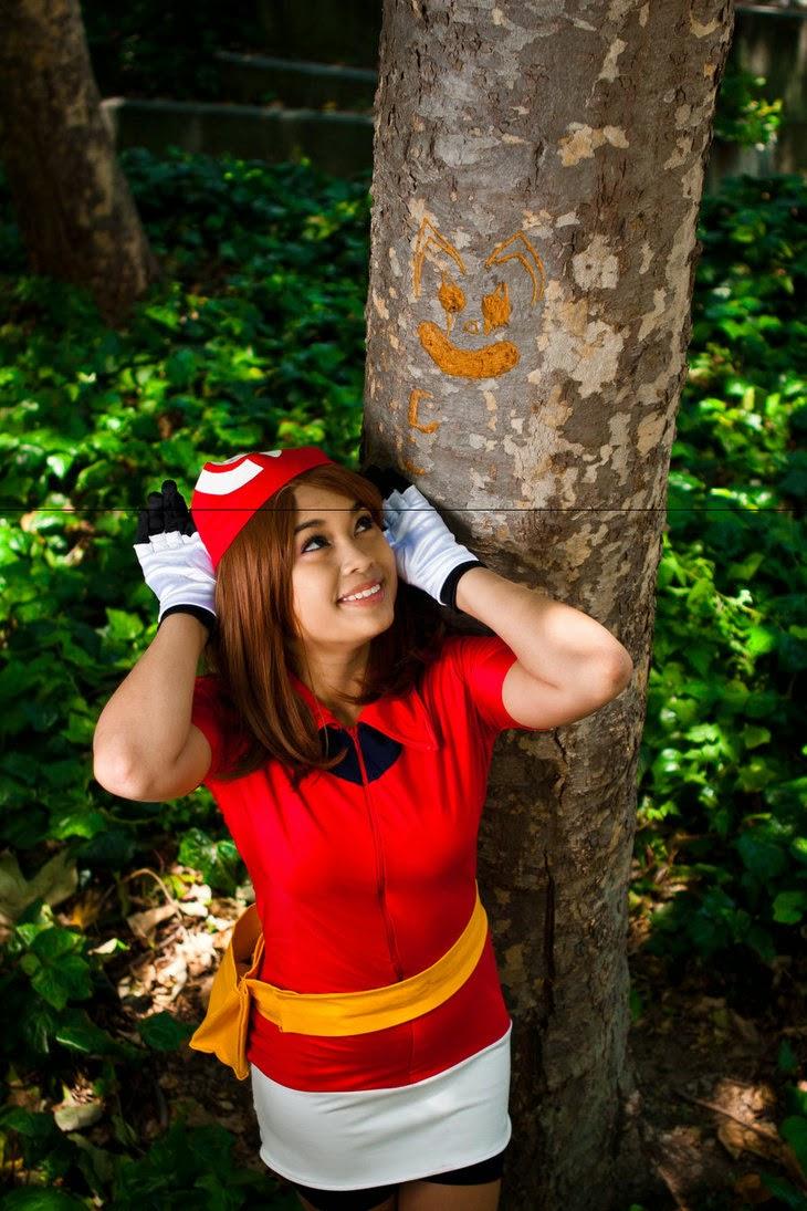 Pokemon Cosplay: Cheerful Pokmeon Coordinator May Cosplay ...