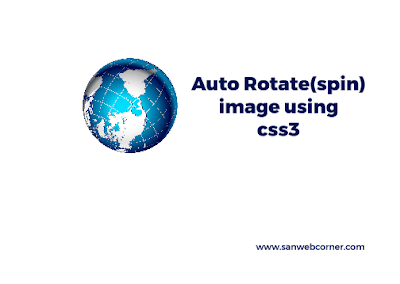 auto-rotate effect using css3