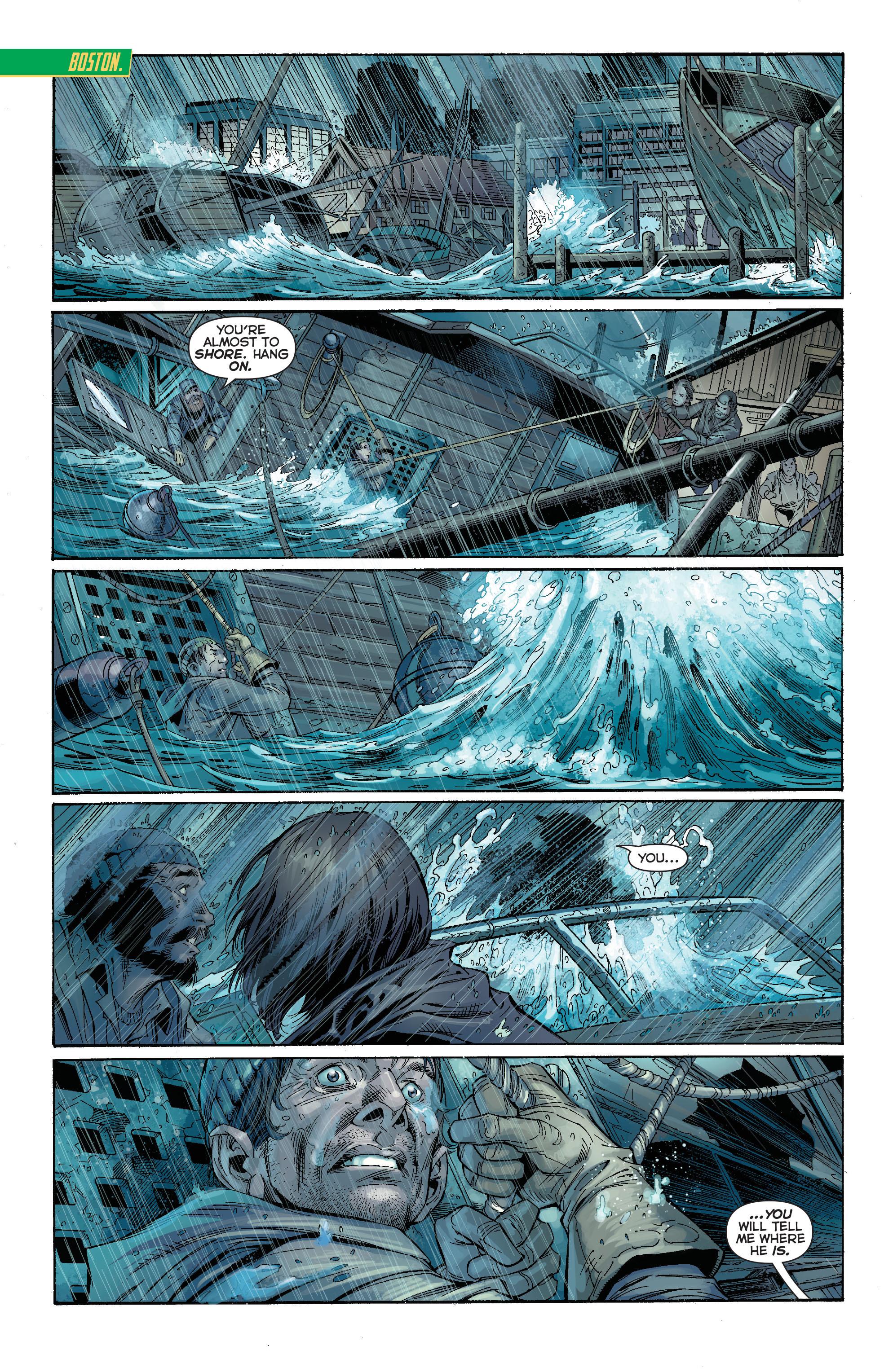 Read online Aquaman (2011) comic -  Issue #15 - 17