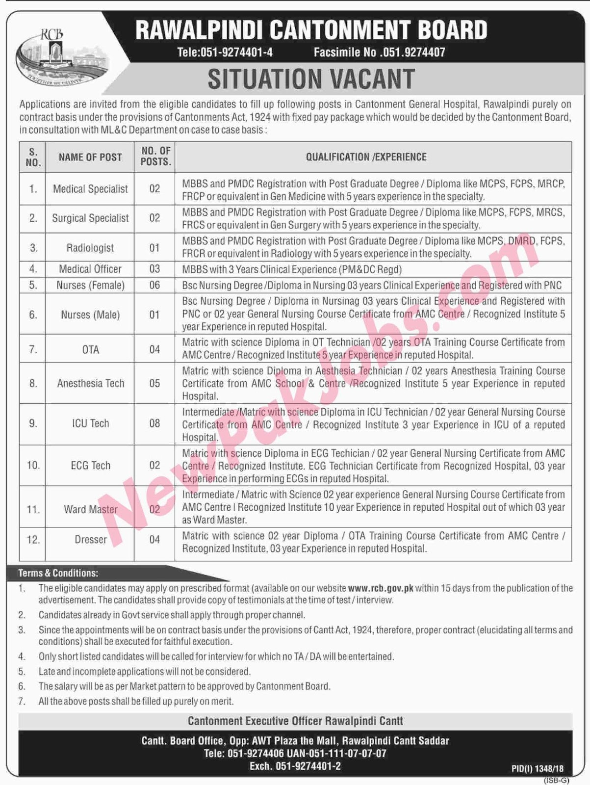 govt-jobs-in-general-hospital-rawalpindi-newpakjobs.com