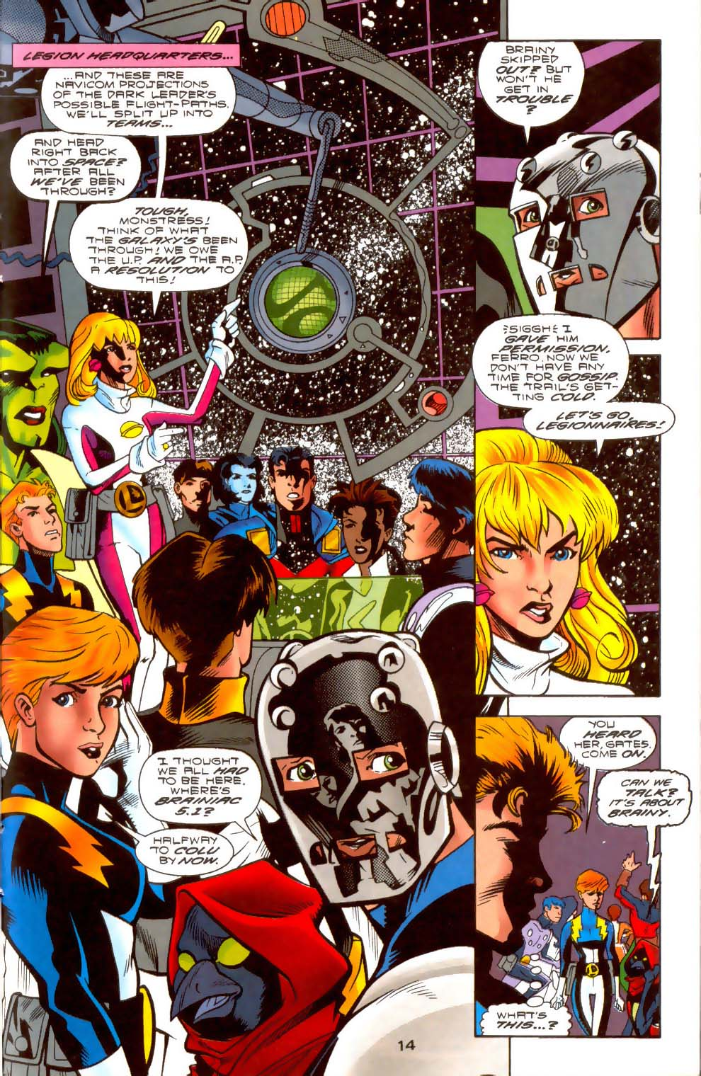 Legion of Super-Heroes (1989) 108 Page 13