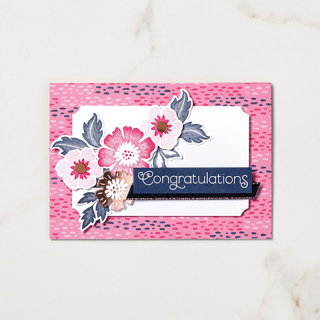 mini collection tout est plus rose Stampin' up!