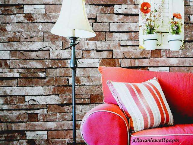 jual wallpapaper dinding 3 dimensi surabaya