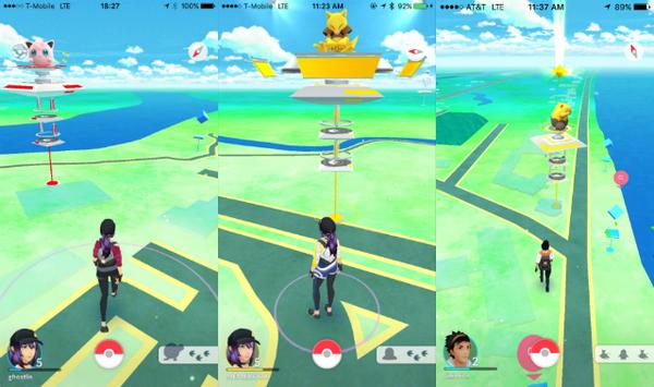 Tìm Gym trong Pokemon GO