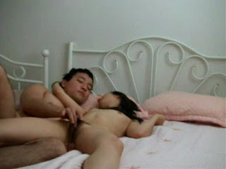 Chinese couple fuck 2