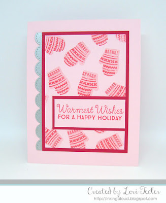 Warmest Winter Wishes card-designed by Lori Tecler/Inking Aloud-stamps and dies from My Favorite Things