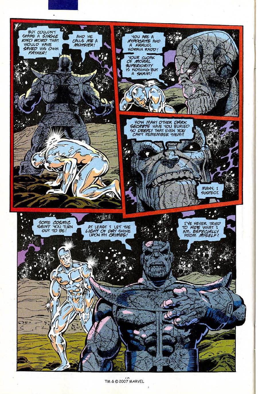 Read online Silver Surfer (1987) comic -  Issue #50 - 42