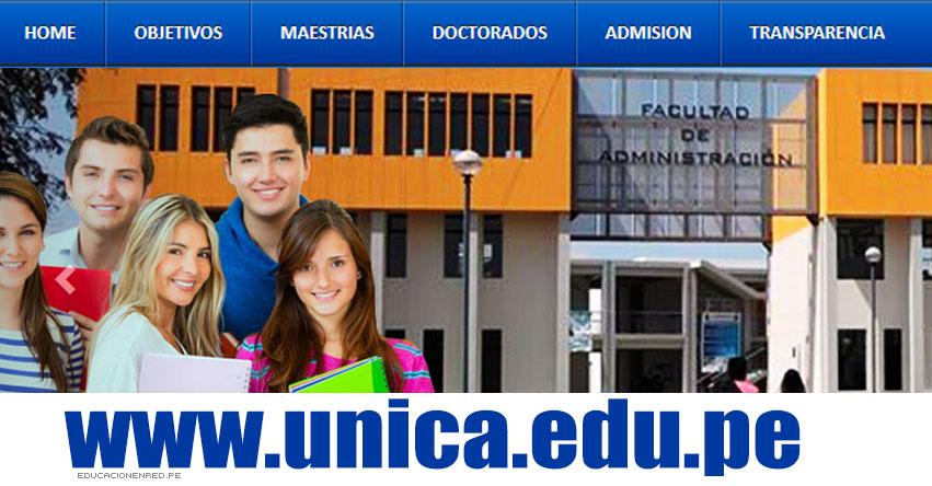 UNICA: RESULTADOS ADMISIÓN 2017-1 (Examen 16 Julio) Lista de Ingresantes Admisión Universidad Nacional San Luis Gonzaga de Ica - www.unica.edu.pe