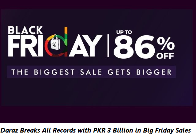 Daraz Breaks All Records with PKR 3 Billion in Big Friday Sales