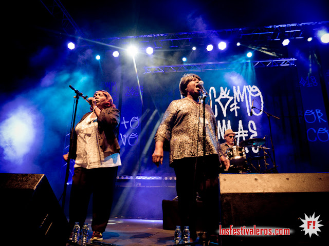 FMM Sines 2018 en Porto Covo, PT  / The Como Mamas