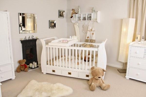 Dormitorios para beb s en colores neutros dormitorios - Dibujos habitacion bebe ...