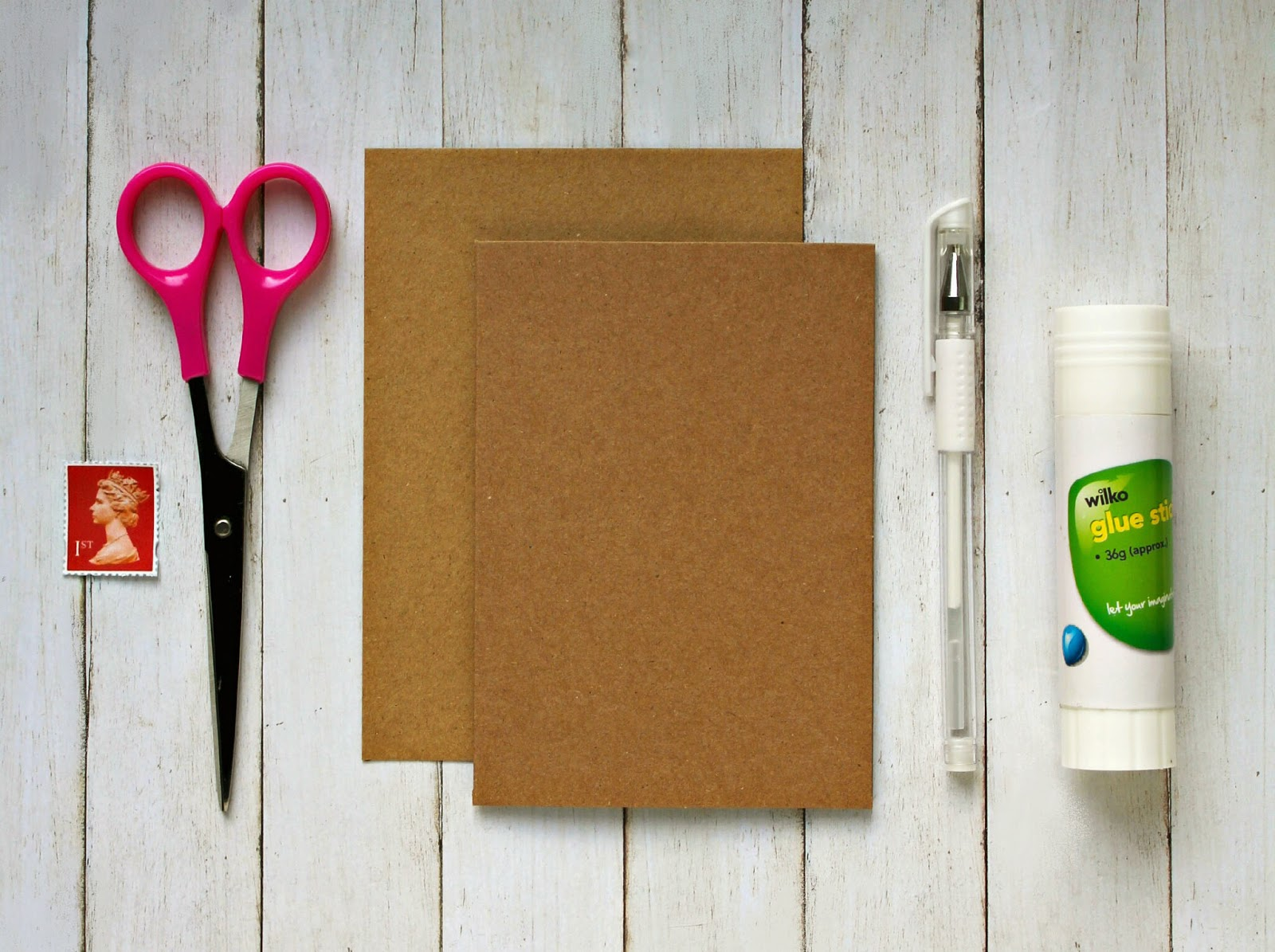 Easy peasy diy stamp card for mail lovers | Rose Tinted Crafting
