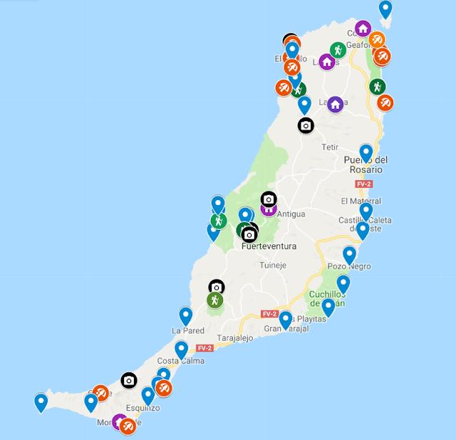 lugares para ver en Fuerteventura