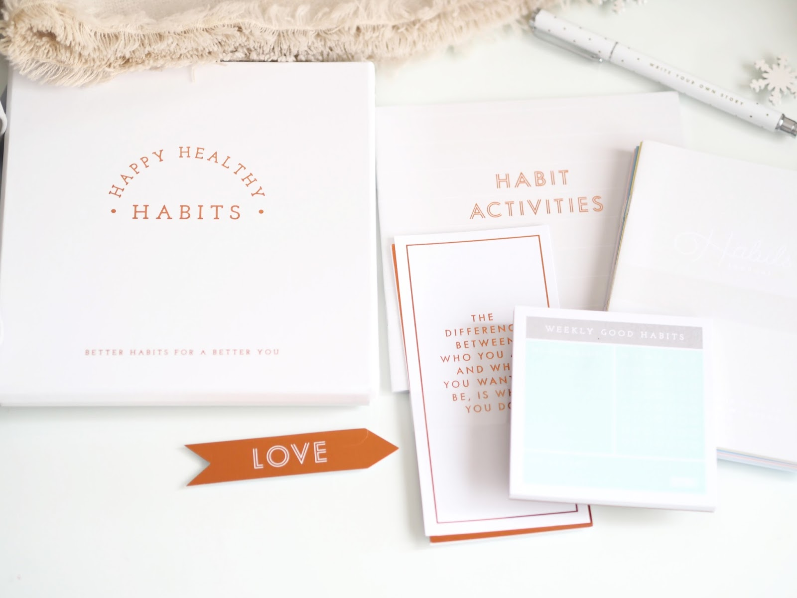 Happy Healthy Habits Box: Inspiration