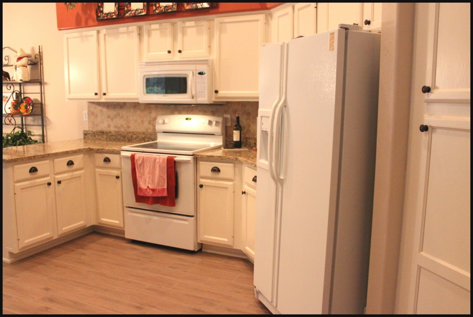 before and after white kitchen abinets off white kitchen cabinets Before and After White Kitchen Cabinets