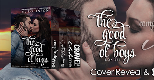 Cover Reveal of The Good Ol' Boys by M. Robinson