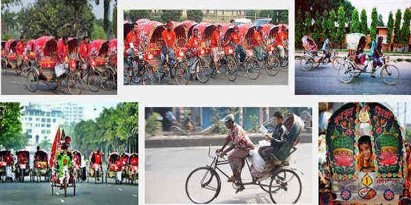 Guided Rickshaw Tour in Old Dhaka