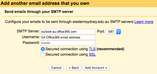 Mark's Speechblog: How to find the correct SMTP server