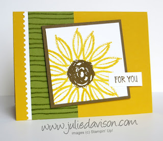 Stampin' Up! Last Chance Favorite: 2 Paint Play Cards ~ www.juliedavison.com