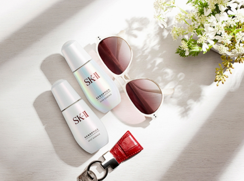 singapore beauty nfluencer reviews skii genoptics whitening skincare