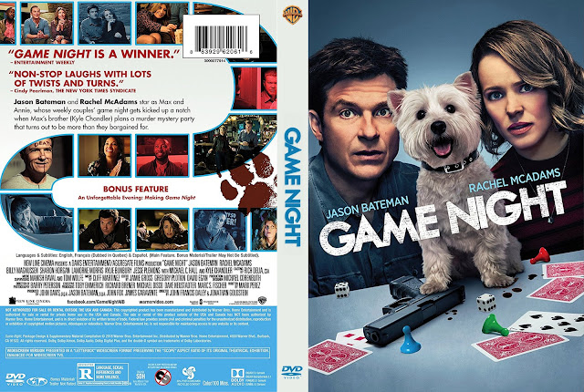 Game Night (scan) DVD Cover