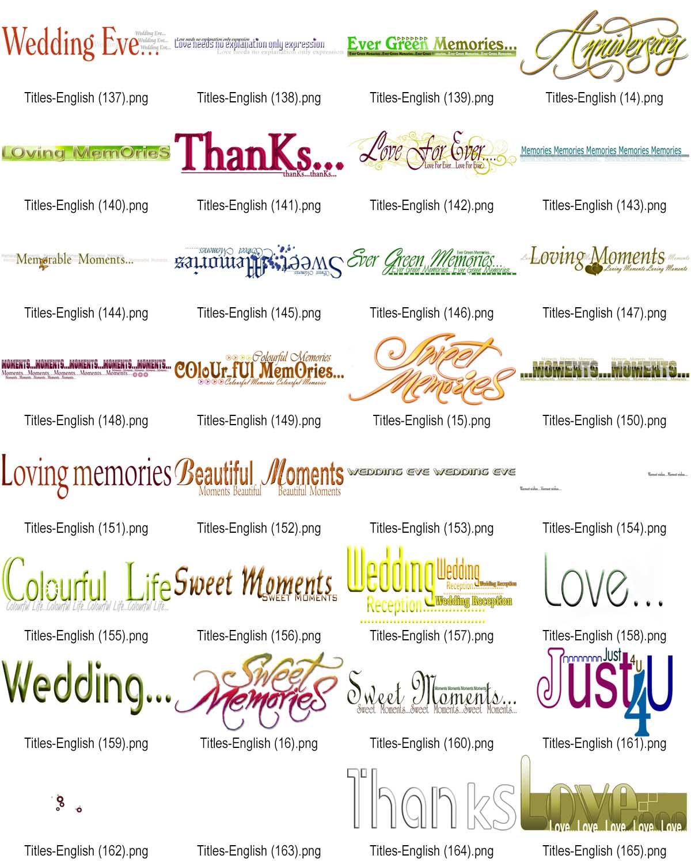 Wedding Png Clip Arts