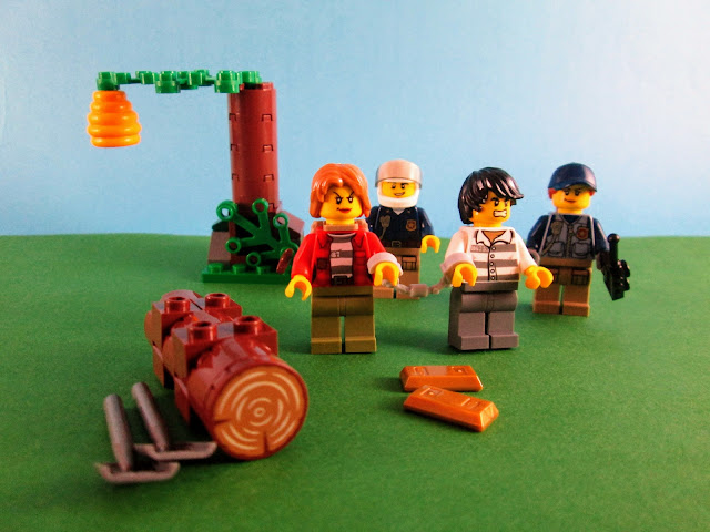 Set LEGO City 60171 Mountain Fugitives
