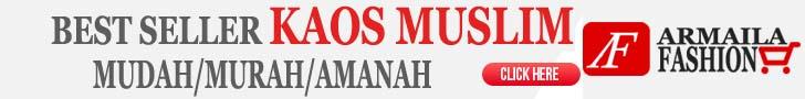 Best Seller Kaos Muslim - KLIK DISINI