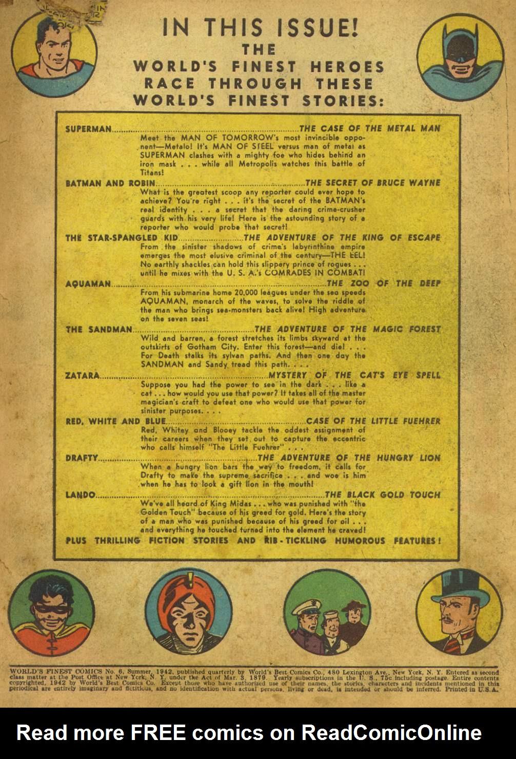 Read online World's Finest Comics comic -  Issue #6 - 3