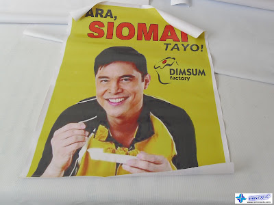 Tarpaulin Banner for Dimsum Factory
