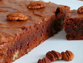 Brownies au chocolat noir et aux noix de pécan