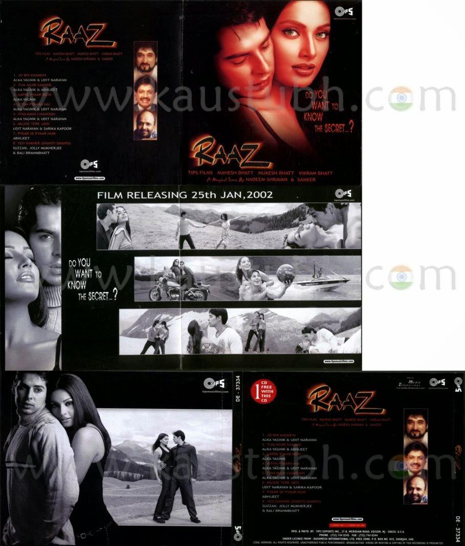 Nadeem Shravan: The Melody King: Raaz 2002  Nadeem Shravan:...